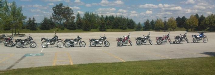 Training wheels for the Vermont Rider Education Program.