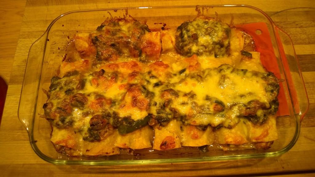 My best batch of enchiladas - Ever!